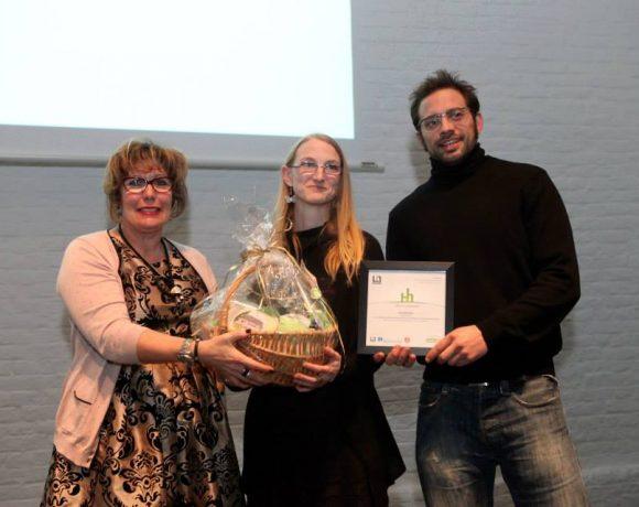 Ecoterre: Lauréat du Prix Hainaut horizons du Public, décerné par:
