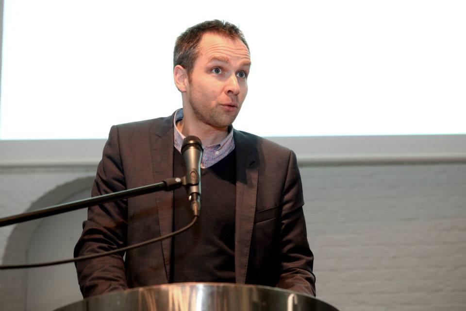 Philippe Lovens, Président du Jury du Prix Hainaut horizons, Manager chez Belvas, chocolaterie bio et équitable, Lauréat du 1er Prix Hainaut horizons, et Lauréat du Grand Prix des Générations futures 2013 (prix fédéral)