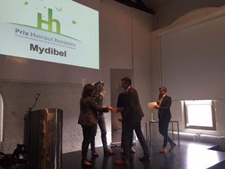 Le Prix Hainaut horizons a été remis cette année à Coprosain s.c. – Comptoir Fermier,