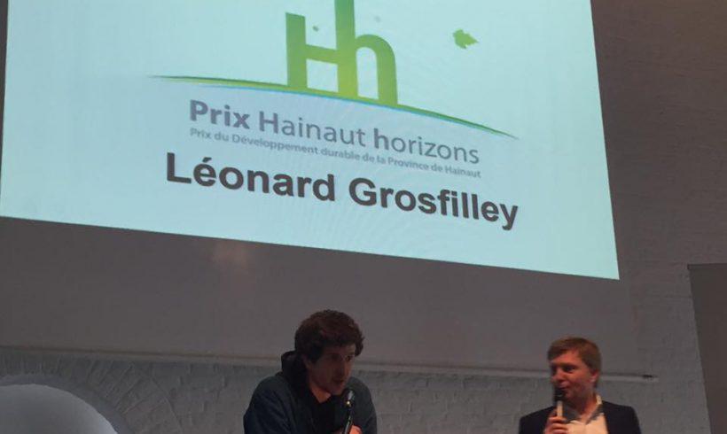 La ferme Delsamme, à Strépy-Bracquegnies, a reçu le prix Hainaut Horizons du public